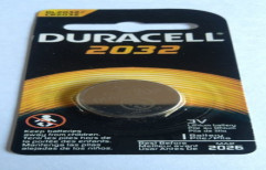 Duracell CR 2032 Lithium Battery by Mercury Traders