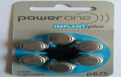Implant plus P675 Hearing Battery by Mercury Traders