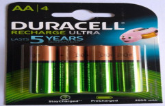 Duracell AA Rechargeable Battery by Mercury Traders