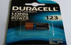 Duracell CR 123 Lithium Battery by Mercury Traders