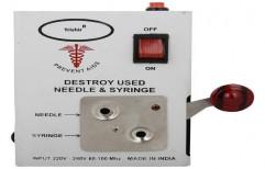 Electric Syringe Needle Destroyer by Trishir Overseas