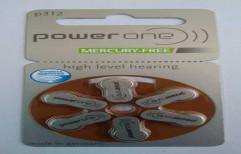 Powerone P312 Hearing Battery by Mercury Traders
