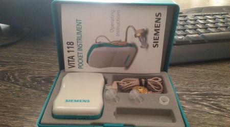 Hearing Aid Siemens Vita 118 by Medineeds Trading Co.