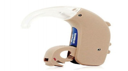 Siemens BTE Touching Hearing Aids by Saimo Import & Export