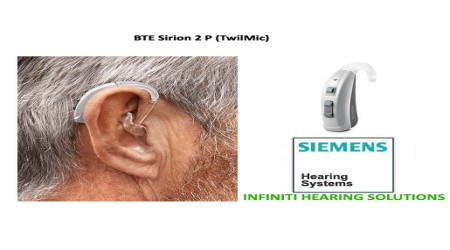 BTE Sirion 2 P Hearing Aid by Infiniti Hearing Solutions