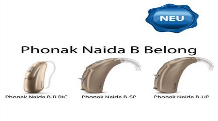 Phonak Naida B R 50 RIC BTE Hearing Aid by Shri Ganpati Sales