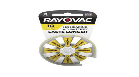 1.45 V Hearing Aid Batteries by R K Hear Care
