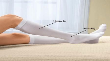 Knee Length Anti Embolism Stockings by Isha Surgical