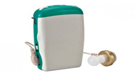 Pocket Body Hearing Aid (Model: JH 233) by Isha Surgical