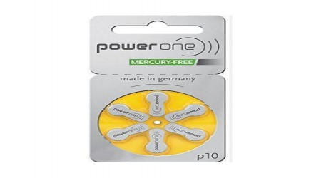 Power One P10 Hearing Aid Batteries by A1 Hearing Aid Centre