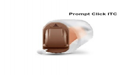 Prompt Click ITC Hearing Aid Machine by Hope Enterprises