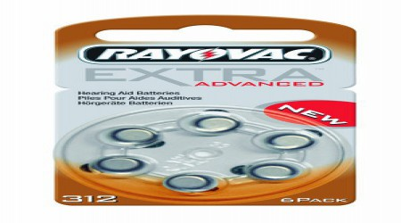 Rayovac Hearing Aid Battery Size 312 by Shri Ganpati Sales