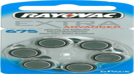 Rayovac Hearing Aid Battery Size 675 by Shri Ganpati Sales