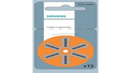 310 mAh Siemens Hearing Aid Batteries by Prayas Hearing Aid Center