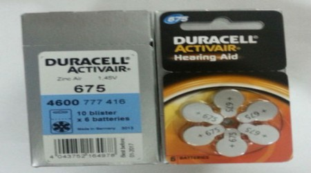 Duracell Hearing Aid Cells by Shri Ganpati Sales