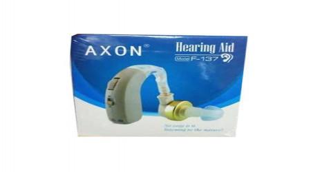 F 137 Axon Hearing Aid Machine by S.G.K. Pharma Company