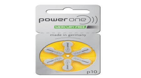 Powerone p10 Hearing Aid Battery by Mathur Radios & Engineering Works