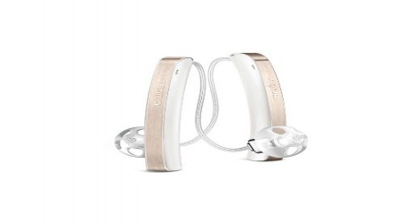 White Signia Hearing Aids by Clear Tone Hearing Solutions