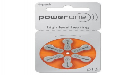 Power One P13 Hearing Aid Battery by Waves Hearing Aid Center