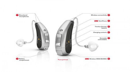 Signia Pure 3px Hearing Aid 24 Channels by Shri Ganpati Sales