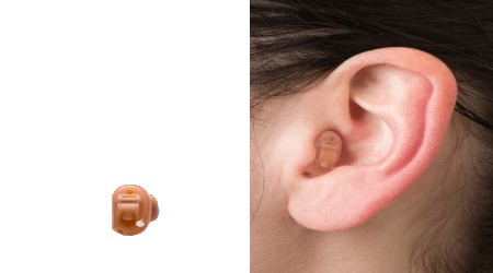 Audio Service CIC Hearing Aid by Advanced Hearing Aid Promotion Centre