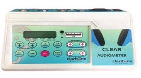 Claritone Clear Basic Audiometer by Claritone Hearing Aid Center