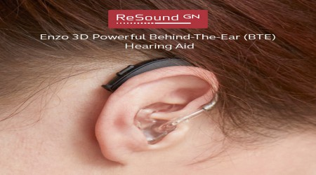 ReSound Enzo 3D BTE Hearing Aid by GN Hearing India Private Limited