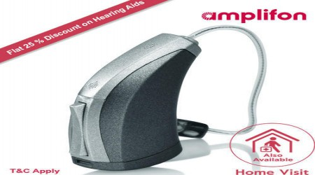3-Series RIC Hearing Aid by Amplifon India Private Limited