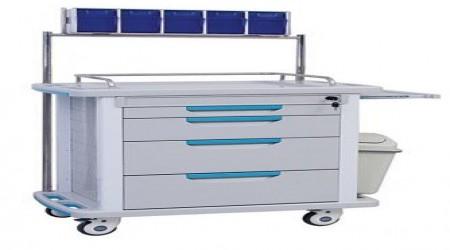 Medical Drug Trolley by Isha Surgical