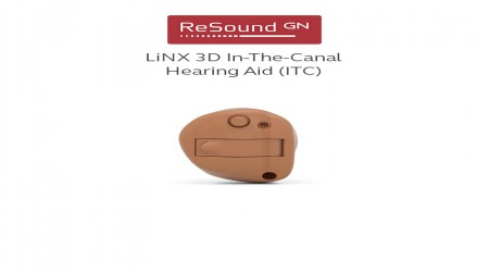 ReSound LiNX 3D ITC Hearing Aid by GN Hearing India Private Limited