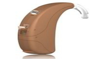 Unitron Super Power BTE Max E Hearing Aid Beige by Aggarwal Opticals