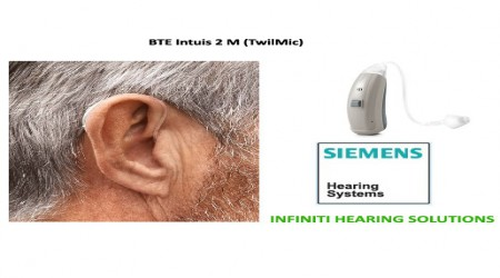 BTE Intuis 2 M Hearing Aid by Infiniti Hearing Solutions
