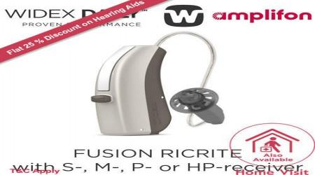 Fusion RICRITE Hearing Aid by Amplifon India Private Limited