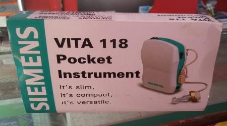 Siemens Vita 118 Hearing Aids by Agar Raj Global OPC Private Limited