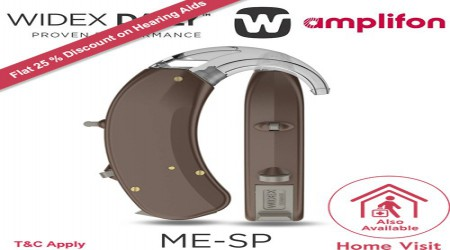Widex Menu Super Power BTE Hearing Aids by Amplifon India Private Limited