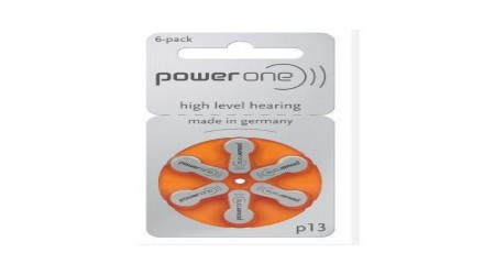 P13 Hearing Aid Batteries by A1 Hearing Aid Centre