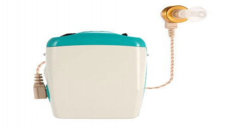 Pocket Wireless Hearing Aid by Earcanhear Hearing Aid Centre