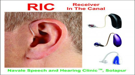 Receiver In The Canal (RIC) Hearing Aids by Navale Speech & Hearing Clinic