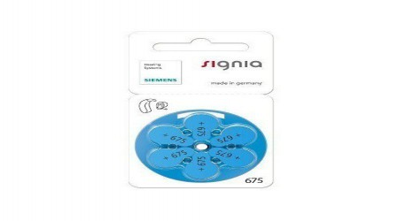 Signia Plus 675 Hearing Aid Battery by Hearing Instruments India Private Limited