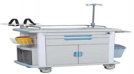 Medical Crash Cart by Isha Surgical