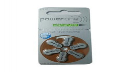 Power One Hearing Aid Battery by Mediways Surgical