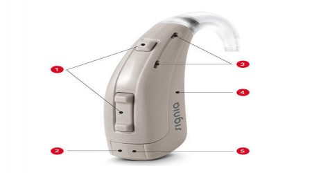 Siemens Lotus 12 P BTE by Waves Hearing Aid Center